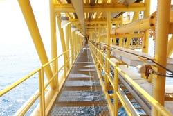 Offshore Platform Structure Bridge Walkway
