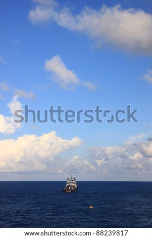 Offshore Supply Boat for The Drilling Rig