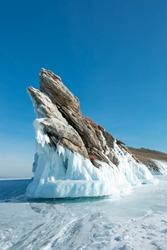 Ogoy island at Siberia in Russia
