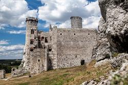 Ogrodzieniec Castle in Poland, Europe