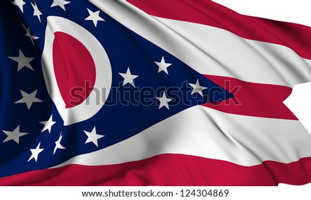Ohio flag - USA state flags collection no_3