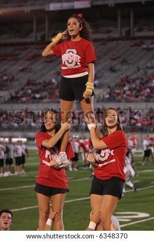 Ohio State College Football Cheerleaders