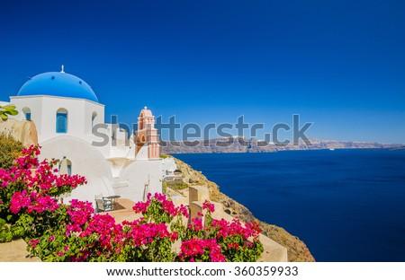 Oia, Santorini, Greece\n