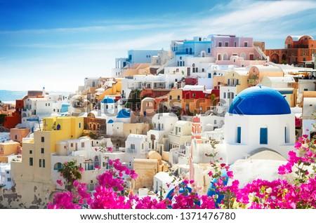 Oia, traditional greek village