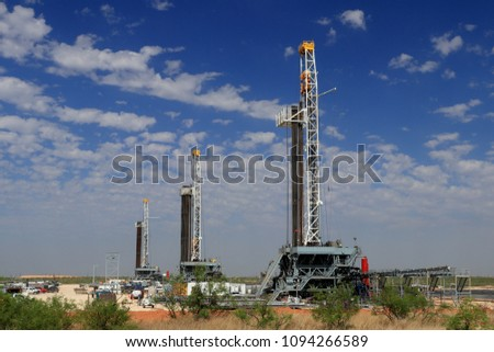 Oil and gas exploration in the Permian Basin - Shutterstock ID 1094266589