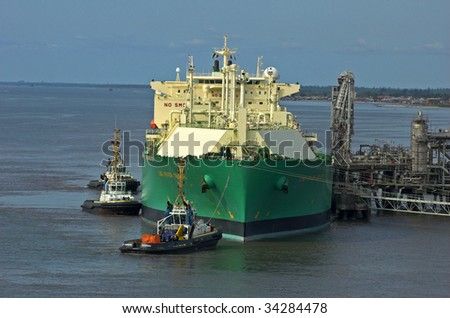 Oil and gas industry � liquefied natural gas tanker LNG