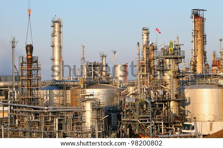 Oil and gas indutry - Petrochemical plant