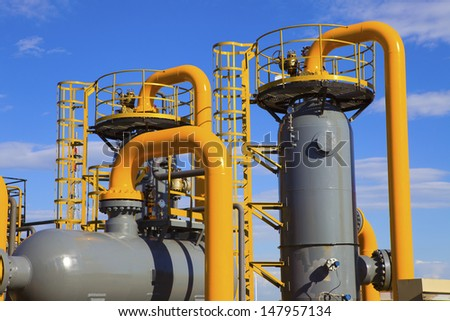 oil and gas processing plant #147957134