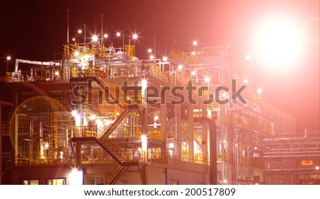 oil and gas processing plant #200517809