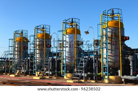 oil and gas processing plant #96238502