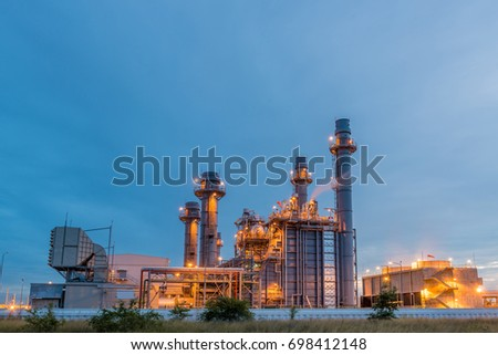 Oil and gas refinery, industry #698412148