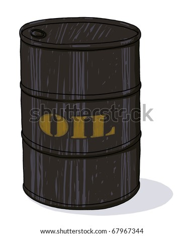 stock photo : oil barrel