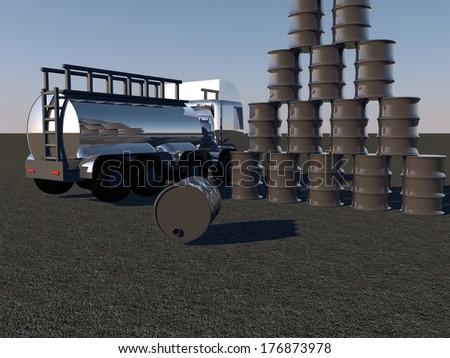 stock-photo-oil-barrels-and-tanker-under-sunset-light-d-render-176873978.jpg