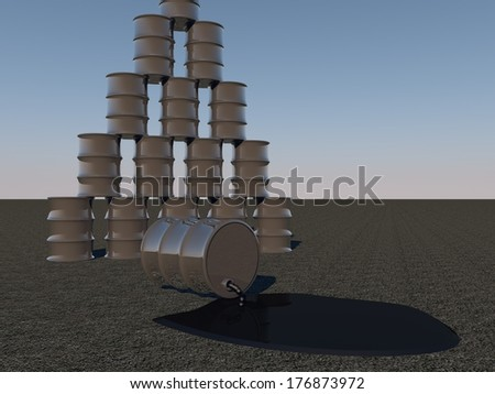 stock-photo-oil-barrels-with-one-pouring-oil-d-render-176873972.jpg