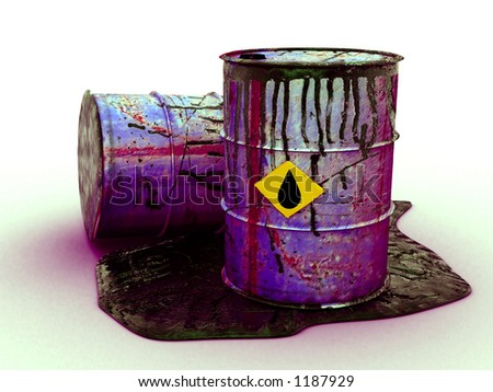 oil drum poison