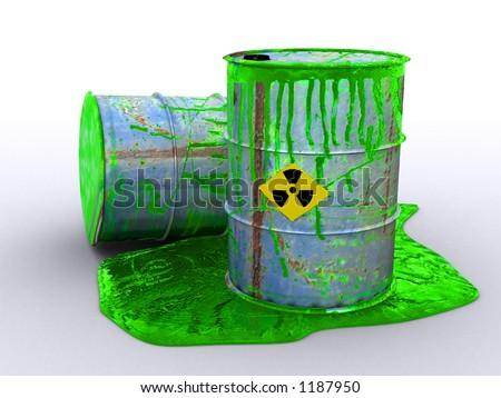 oil drum poison environment environmental damage