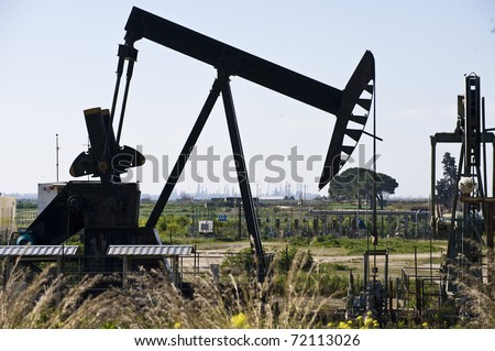 Oil extraction in Sicily, Italy