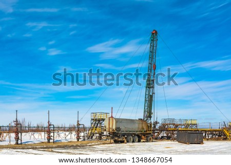 Mobile drilling rig for repair of oil and gas wells  Images