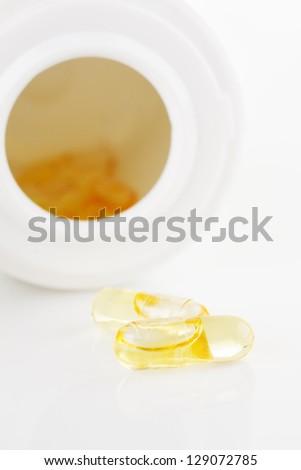 oil filled softgel capsules