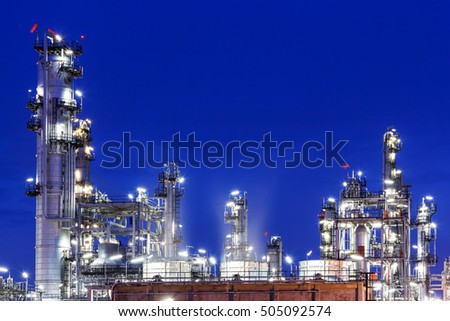 Oil Industry Refinery factory , Petroleum, petrochemical #505092574