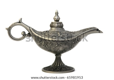 oil lamp east design with egypt texture 1
