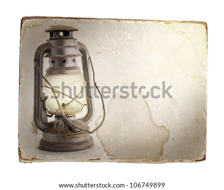 Oil Lamp Background Oil Lamp
