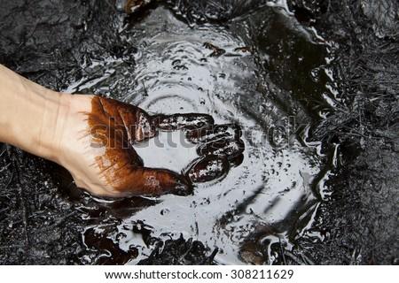 oil leaking