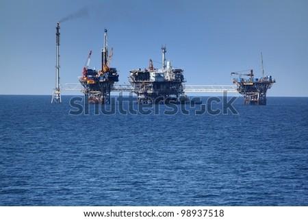 Oil offshore