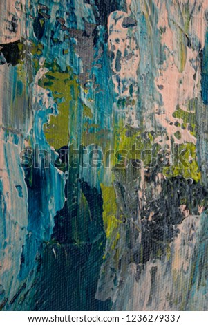 Oil Paint Abstract Texture Background On Canvas Colorful Degrade Colors Art Brush Stroke Textured Fall Colors Blur