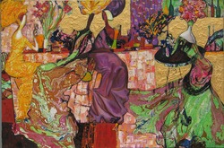 oil painting, author Roman Nogin. series