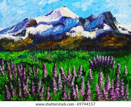 Oil Painting - Landscape