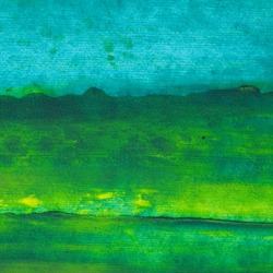 Oil painting texture. Green and blue.