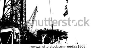 oil platform #666551803