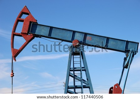 Oil production. oil pumps Сток-фото ©
