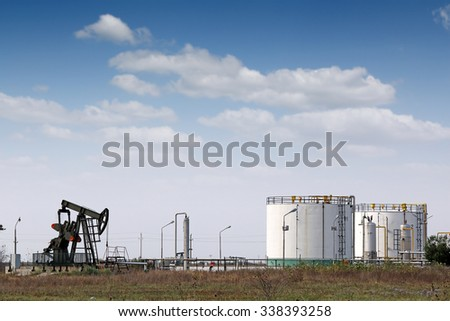 oil pump jack and refinery industry
