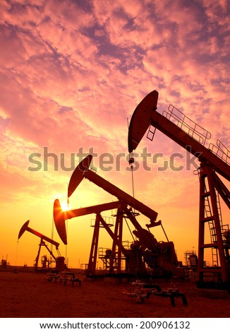 Oil pumps. Oil industry equipment.  #200906132