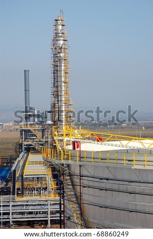 Oil refinery tower in china/ refinery