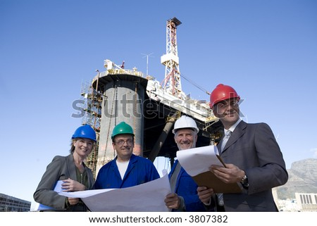 Oil Rig Survey Team