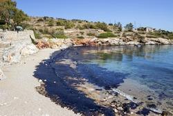 Oil spill. Environmental disaster.