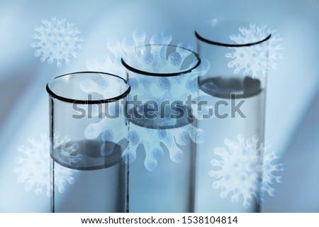 Oil test analysis beaker bio bio diesel biotechnology #1538104814