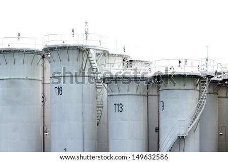Oil Tower Tank