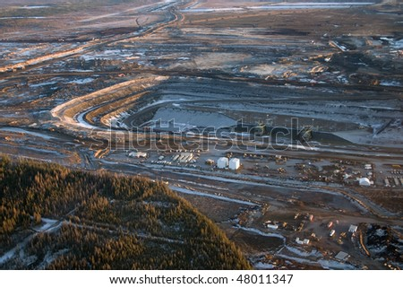 Oilsands development in Northern Alberta