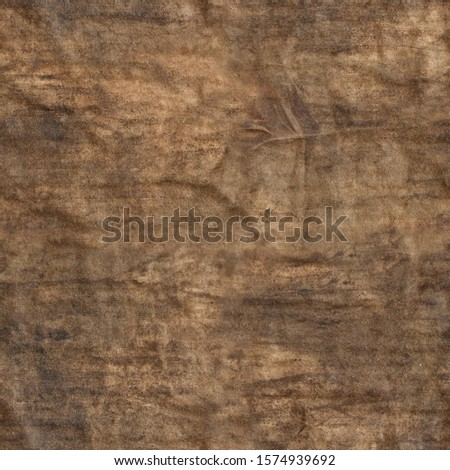 Oily old rag texture repeating tileable background. Image repeats up, down, left and right