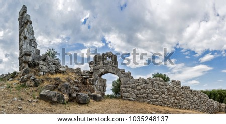 Oiniades antiquities in Greece.  #1035248137