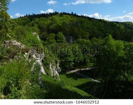 Ojców National Park in Poland Zdjęcia stock ©