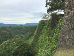 Oka Castle Ruins in Oita
