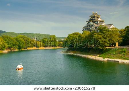 Stock Photo Okayama-jo castle, Japan - city in the region of Chugoku (Honshu island).