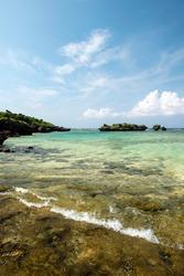 Okinawa Prefecture Iriomote Island star sand beach