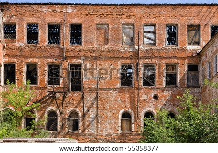 old abandon building