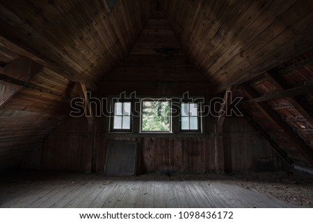 Old Abandoned Attic